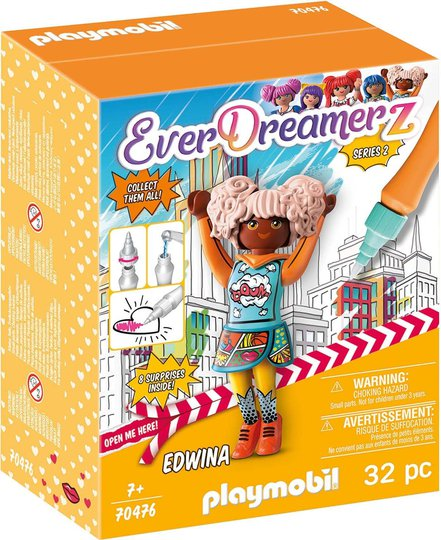 Playmobil 70476 Edwina - Comic World