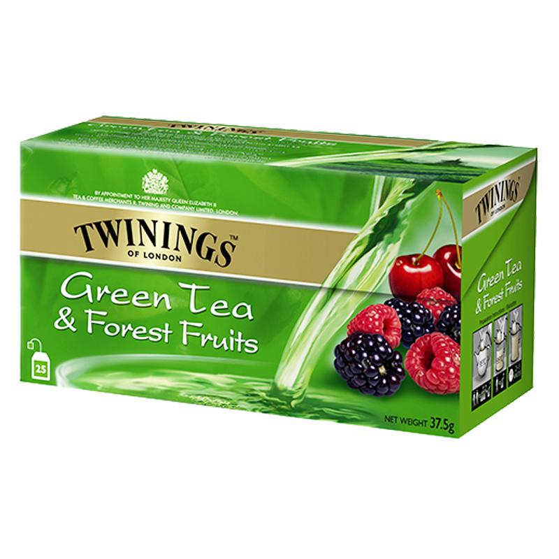 Grönt Te Skogsbär 25-pack - 50% rabatt