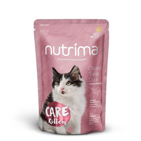 Nutrima Care Kitten Kyckling, Kalkon & Anka