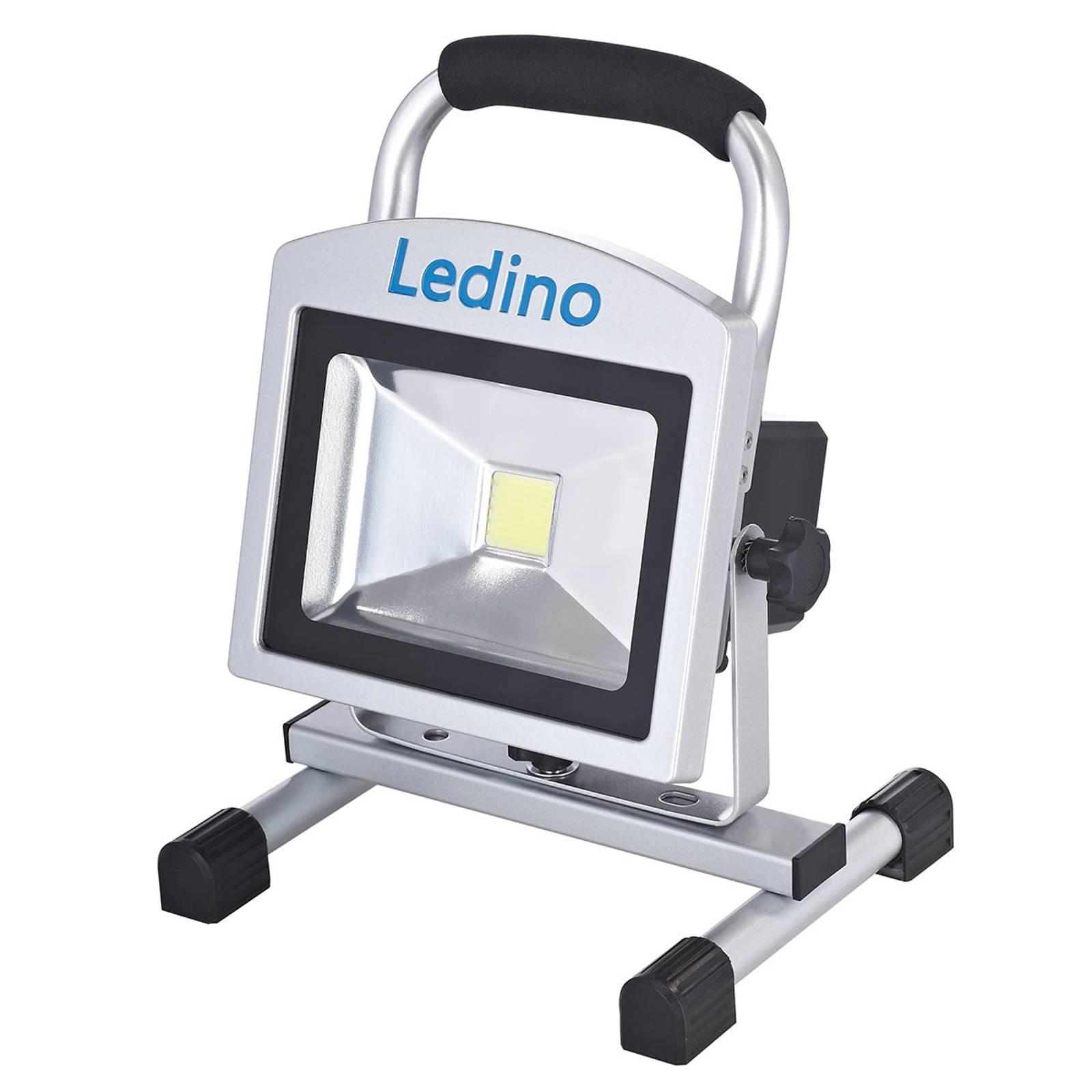 LED-arbeidslampe Köpenick 209 mag.føtter 20W 8,8Ah
