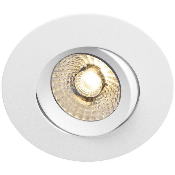 Hide-a-Lite Comfort G3 Tilt Downlight-valaisin valkoinen, 60°, tune