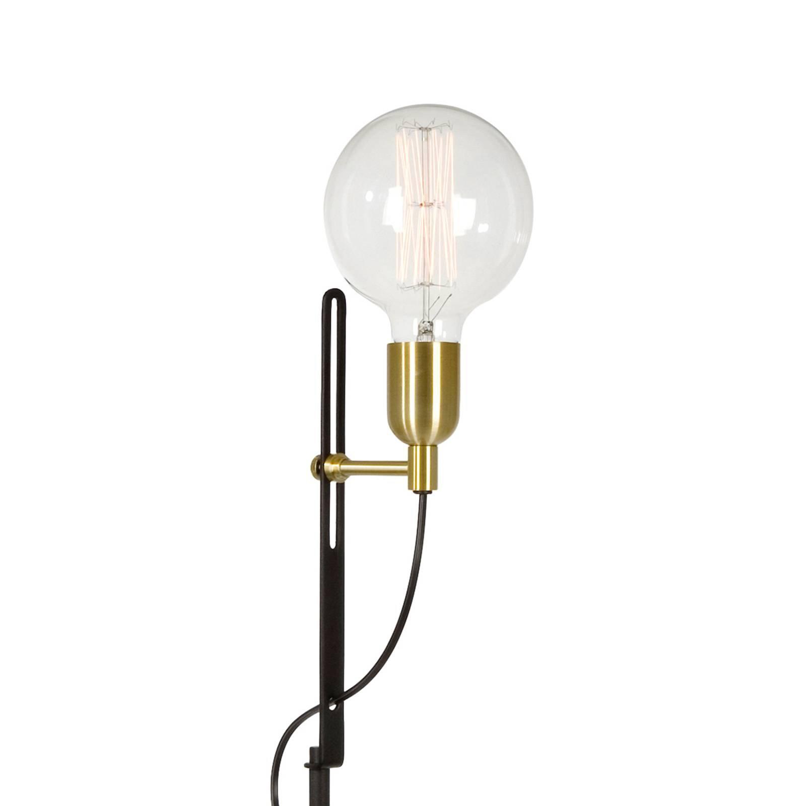 Unik stålampe Regal svart messing