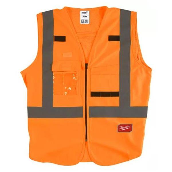 Milwaukee Hi Visible Turvallisuusliivi Hi-Vis, oranssi S/M