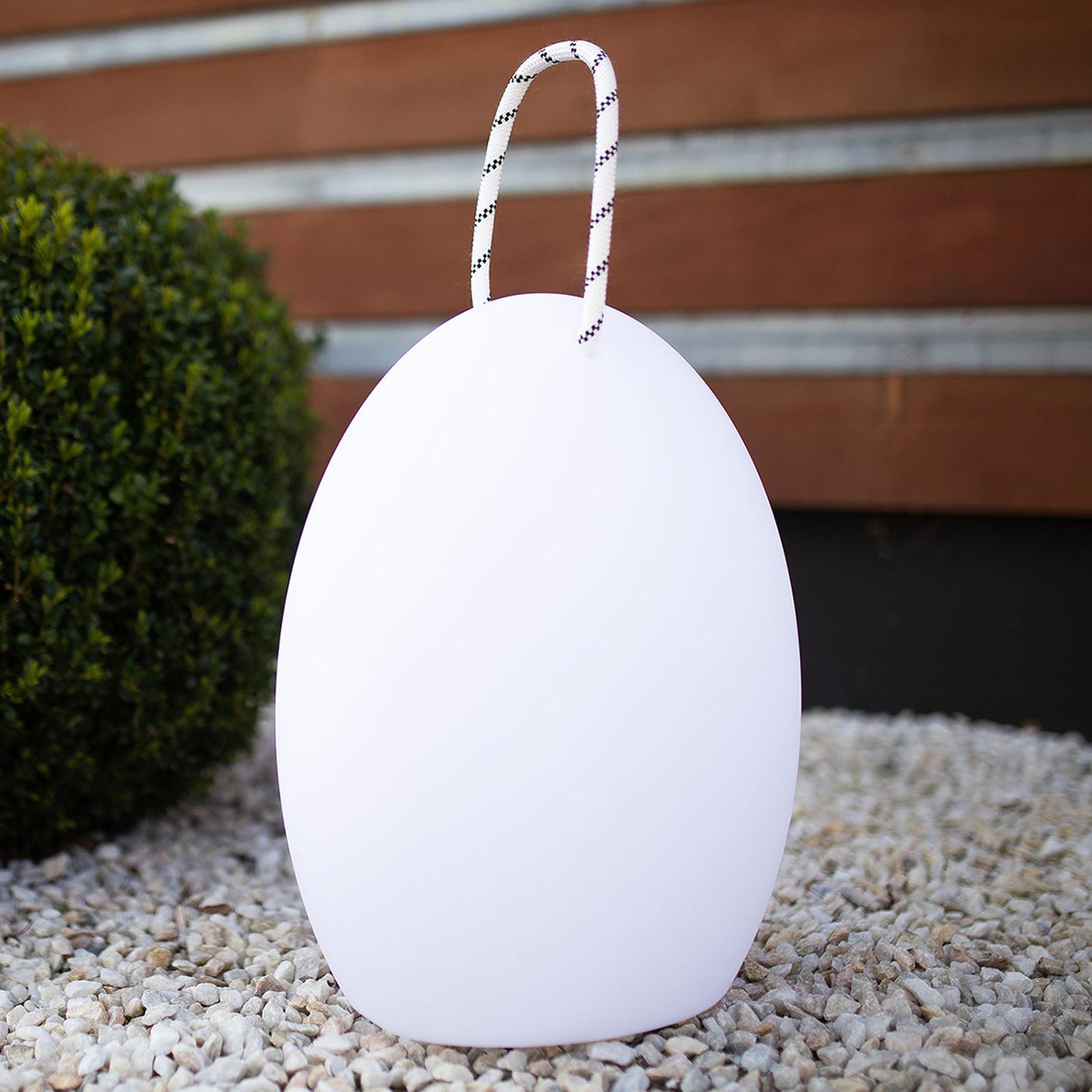 Amande Cord 395 -LED-koristevalaisin, 39,5 cm