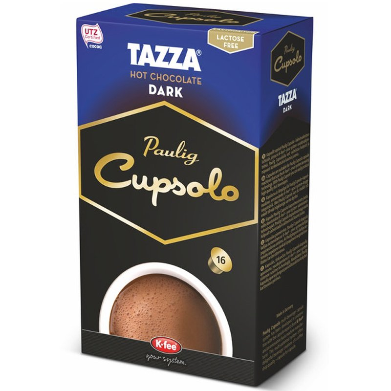 Kakaokapslar Tazza Dark - 29% rabatt