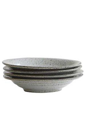 Dyp tallerken Rustic Ø 20x25cm - Grå/Blå