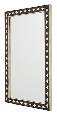 Bone Spegel Rektangulär