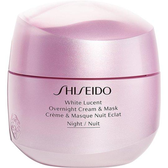 Shiseido White Lucent Overnight Cream & Mask, 75 ml Shiseido Yövoiteet