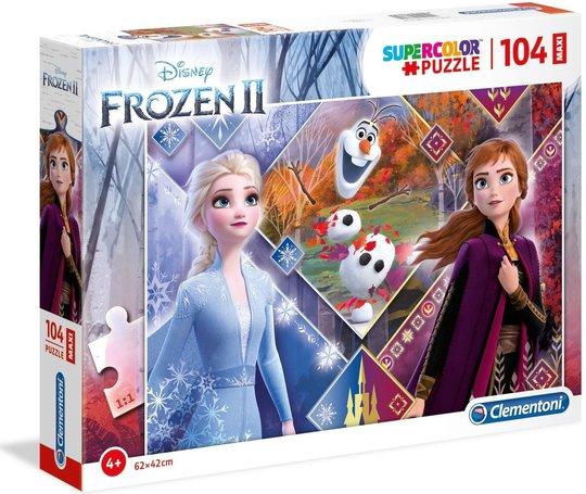 Disney Frozen 2 Puslespill Maxi, 104 Biter