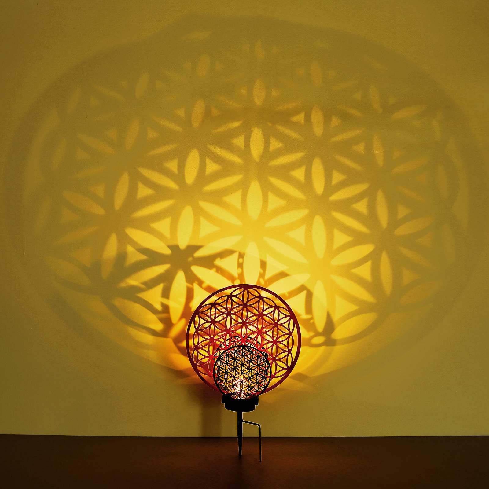 Aurinkokäyttöinen LED-koristelamppu 36614