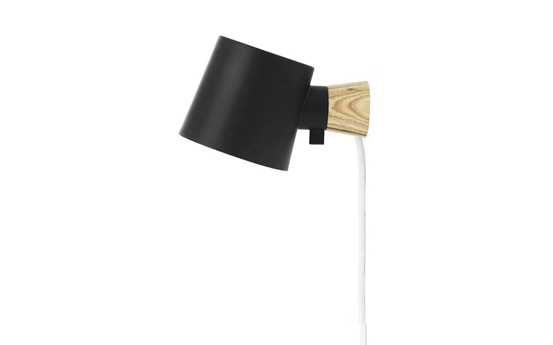 Normann Copenhagen - Rise Wall Lamp - Black (502007)