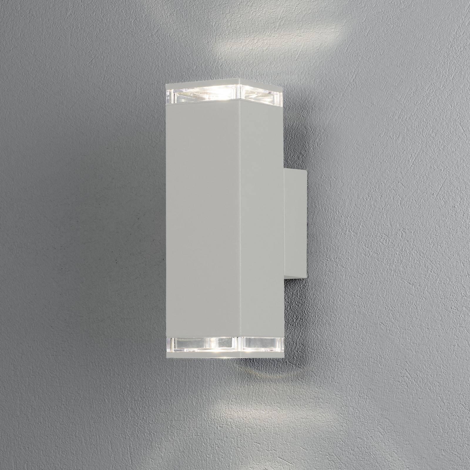 Antares utendørs vegglampe, opp/ned høyde 23,5 cm