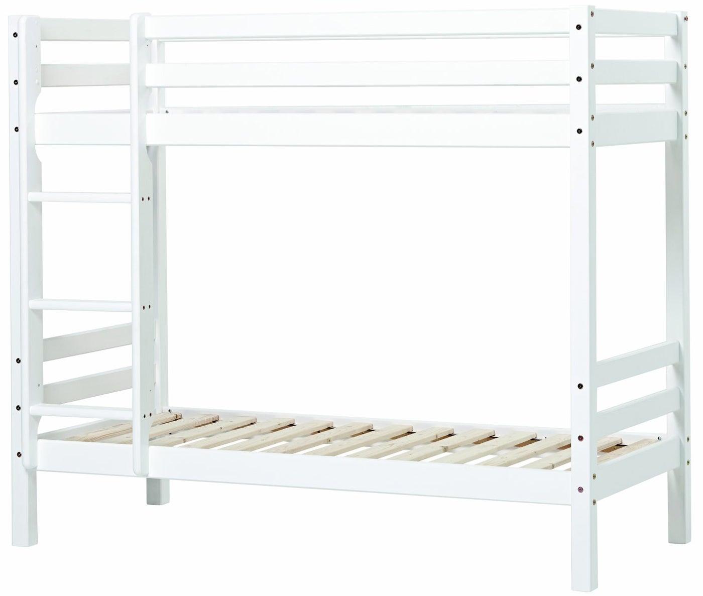 Hoppekids Basic Kerrossänky 90x200, Valkoinen