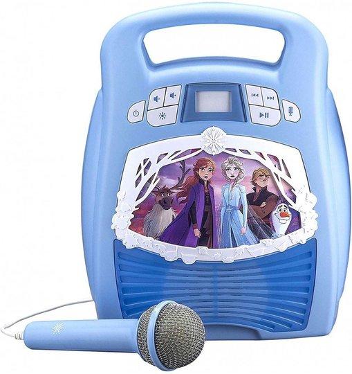 Disney Frozen 2 Karaokemaskin Bluetooth MP3