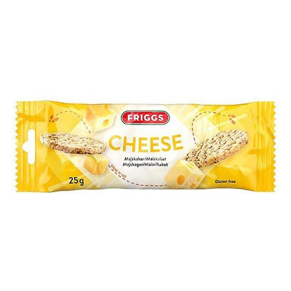 Friggs Snackpack Ost - 25 gram