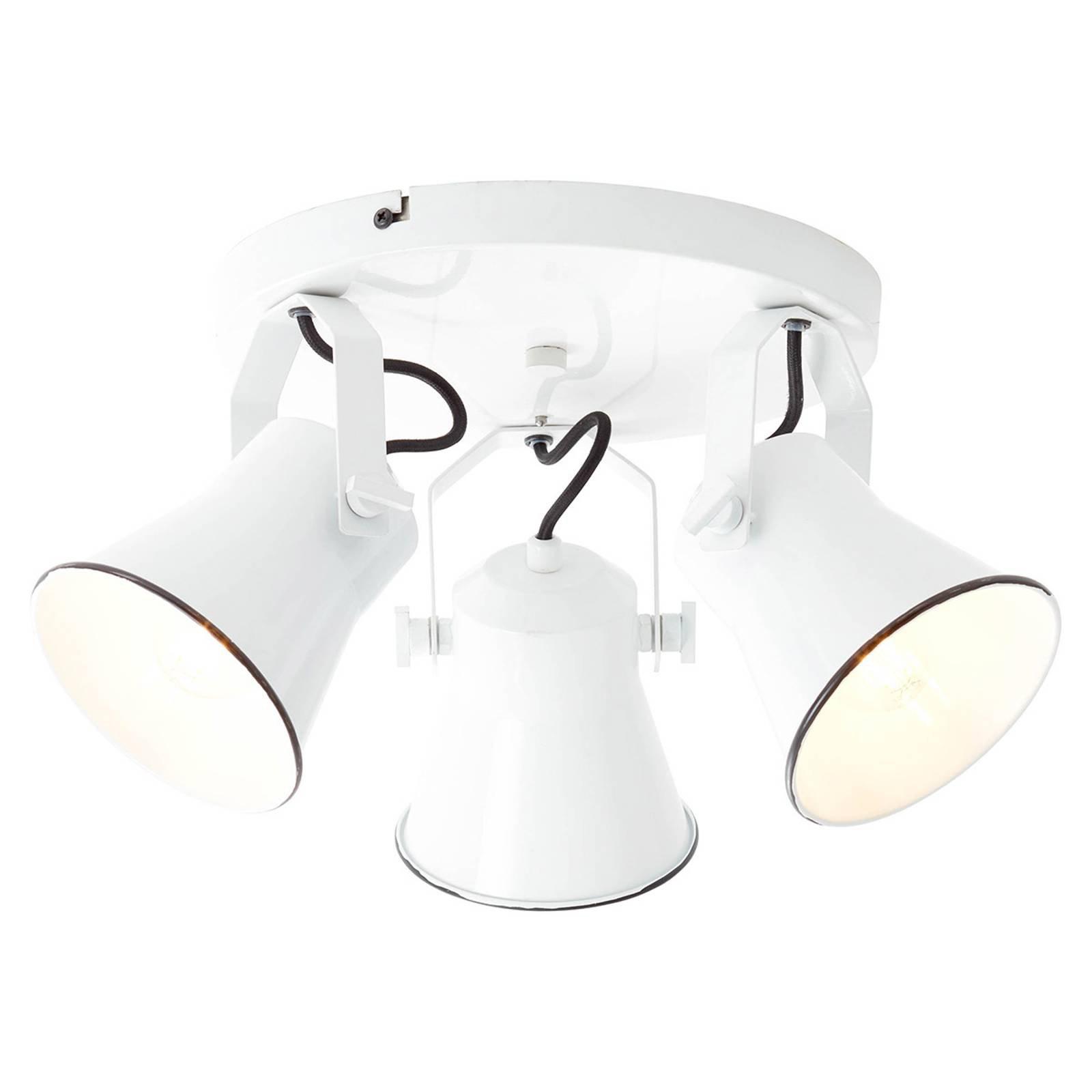 Downlight Kroft svingbart hode, 3 lyskilder