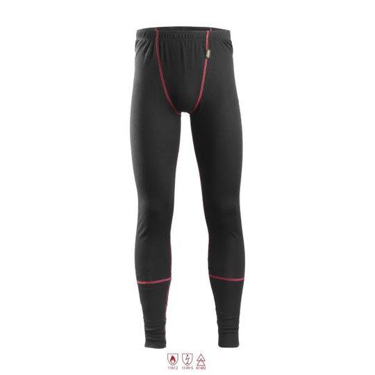 Snickers 9468 ProtecWork Pitkät alushousut musta, palosuojattu XS