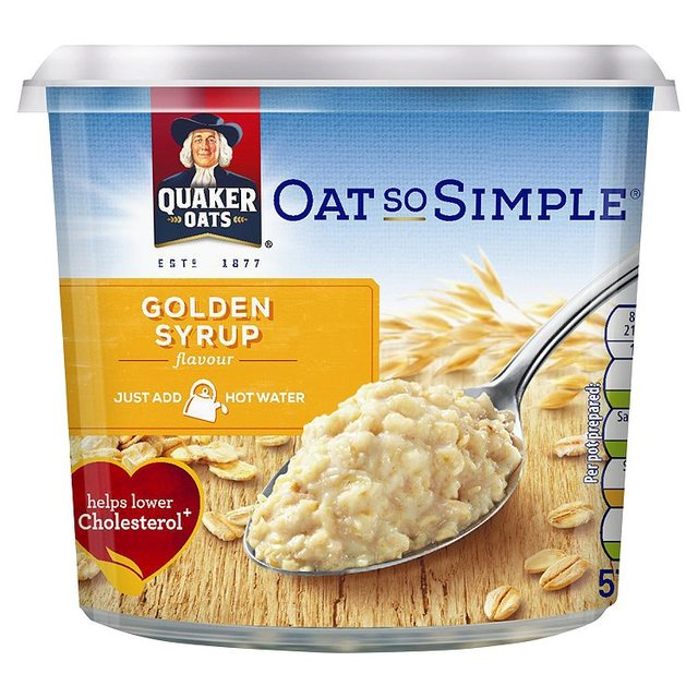 Quaker Oats So Simple Golden Syrup Porridge Pot 57g