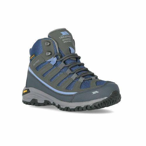 Trespass Women's Hiking Boots Blue Tensing - Steel Blue UK-3 / EU-36