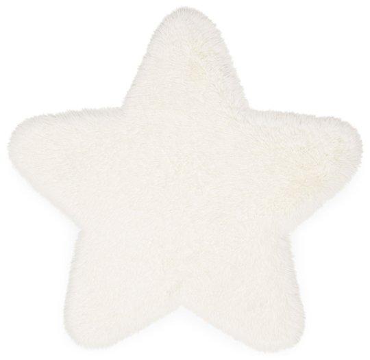 Alice & Fox Teppe Fake Fur Star, Cream