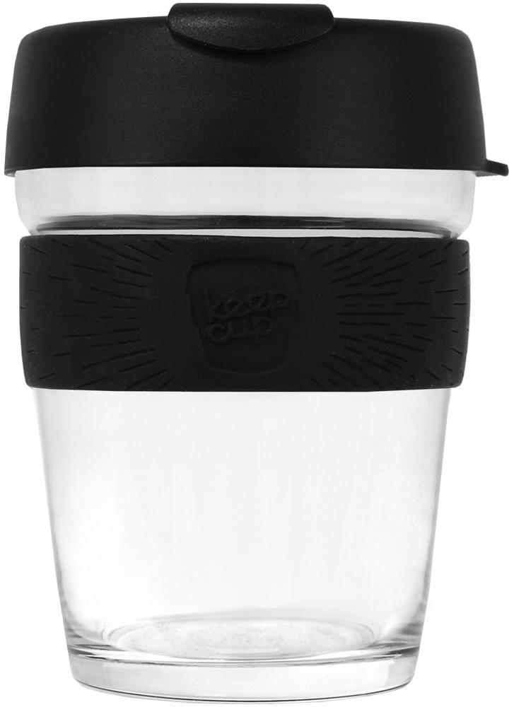KeepCup Brew Glass Black