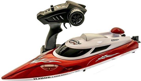Gear4Play Nitro Speed Radiostyrt Båt, Red 30km/h