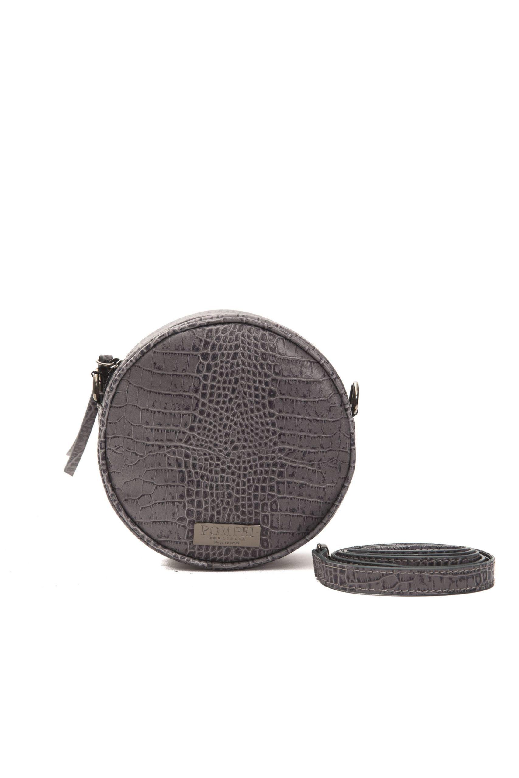 Pompei Donatella Women's Grigio Crossbody Bag Grey PO1004367