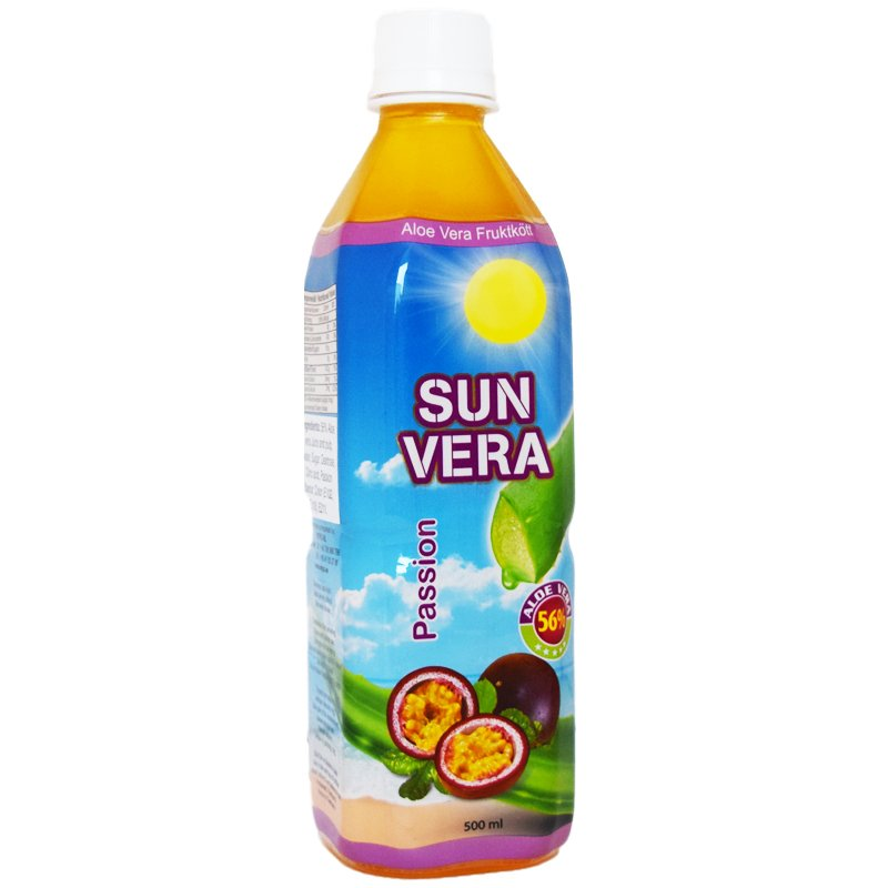 Aloe Vera-dryck Passion 500ml - 50% rabatt