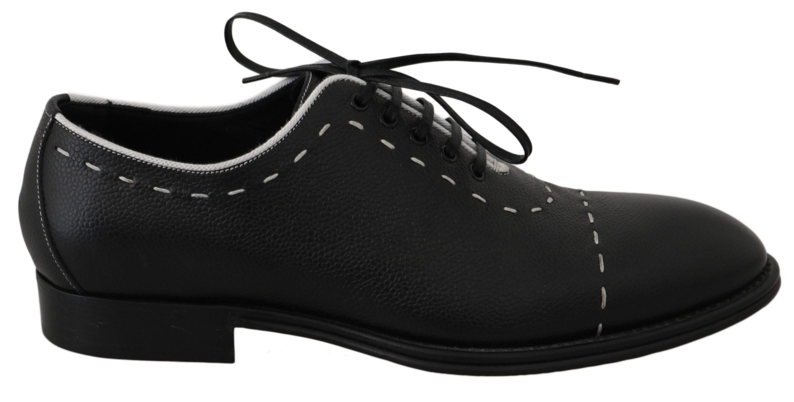 Dolce & Gabbana Men's Shoes Black MV2372 - EU39/US6