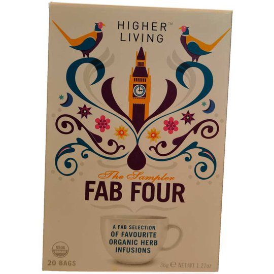 Fab Four te - 67% rabatt