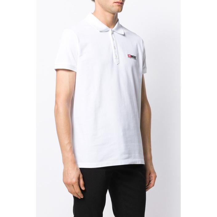 Diesel Men's Polo Shirt Various Colours 283887 - white L