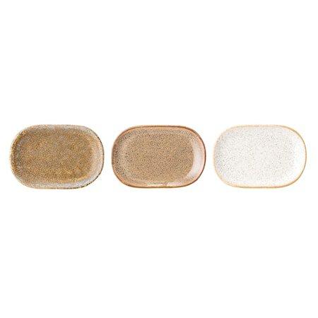 Addison Plate, Multi-color, Stoneware