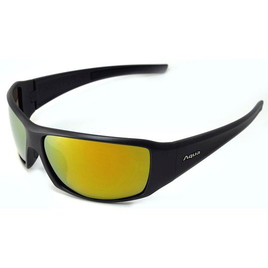 Aqua Perch polariserande solglasögon, mirror gold