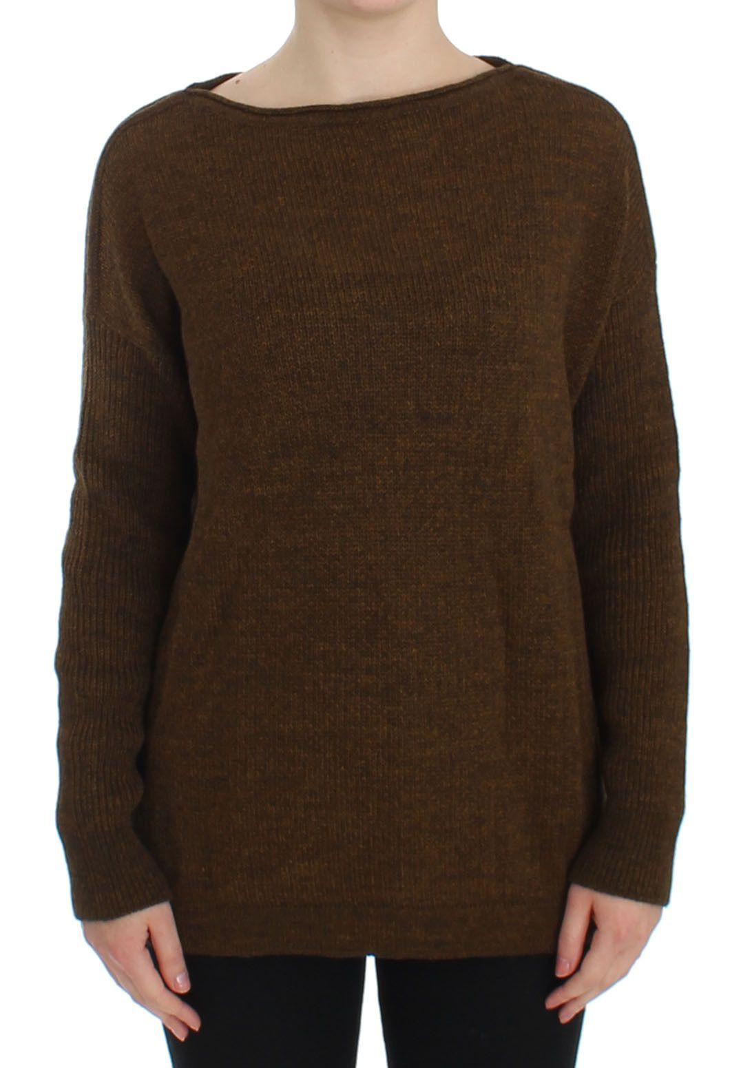 Dolce & Gabbana Women's Knitted Pullover Sweater Green SIG13342 - IT40|S