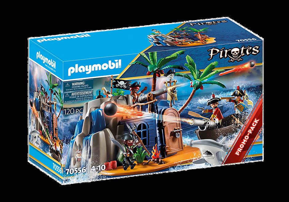 Playmobil - Pirate Island Hideout (70556)