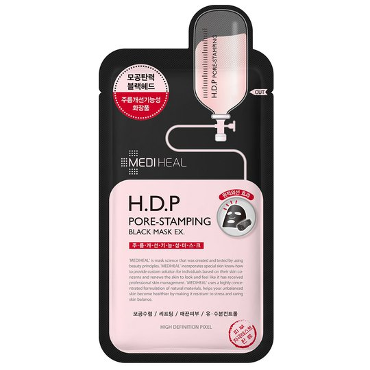 H.D.P Pore-Stamping Black Mask, Mediheal Kasvonaamio