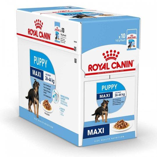 Royal Canin Maxi Puppy Våtfoder (10x140g)