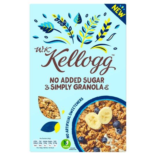 Kelloggs No Added Sugar Simply Granola 570g