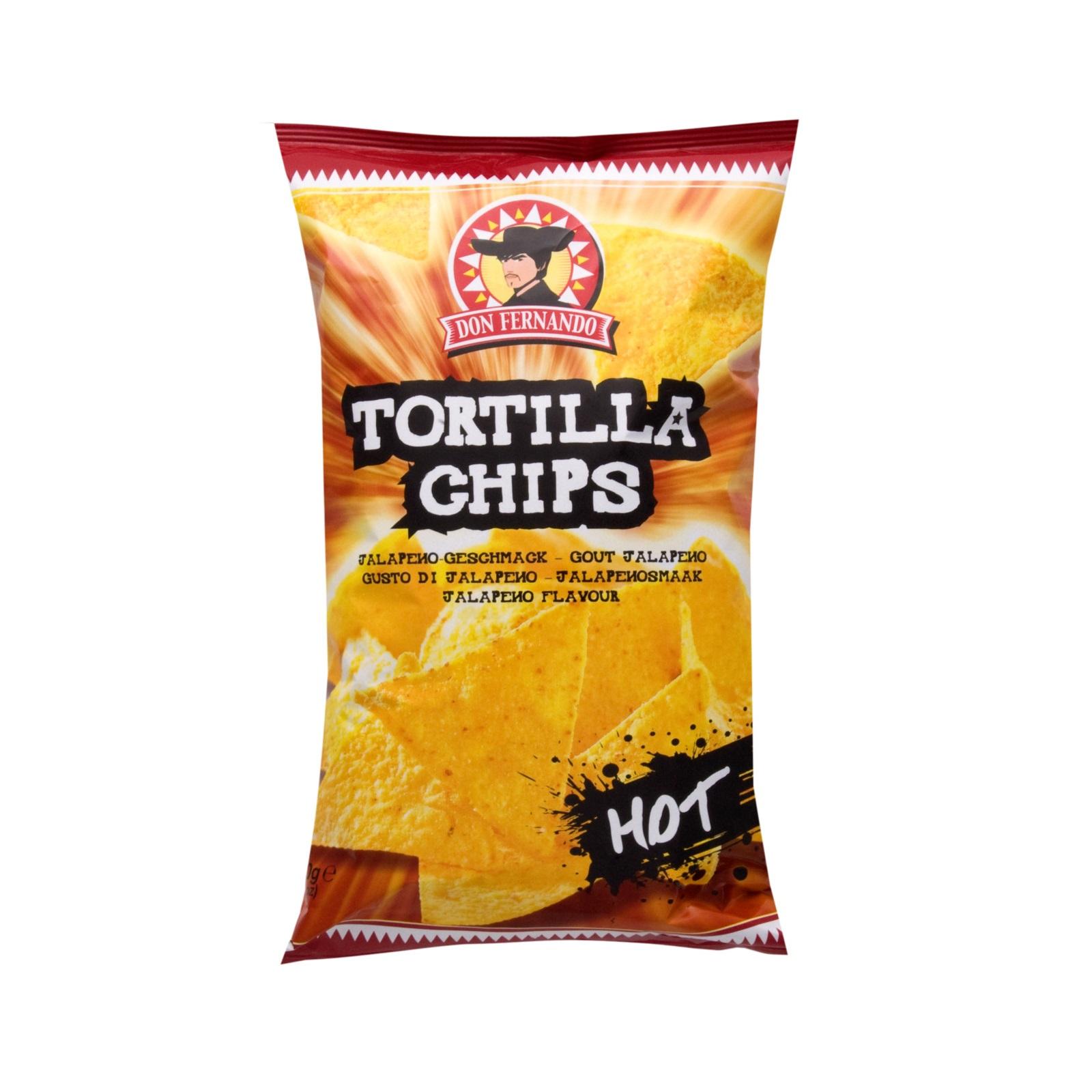 Don Fernando Tortilla Chips Hot Chili 200g