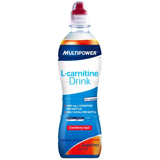 "L-karnitiinijuoma ""Cranberry & Acai"" 500ml - 67% alennus"