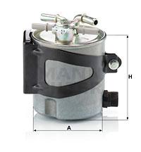 Polttoainesuodatin MANN-FILTER WK 920/5