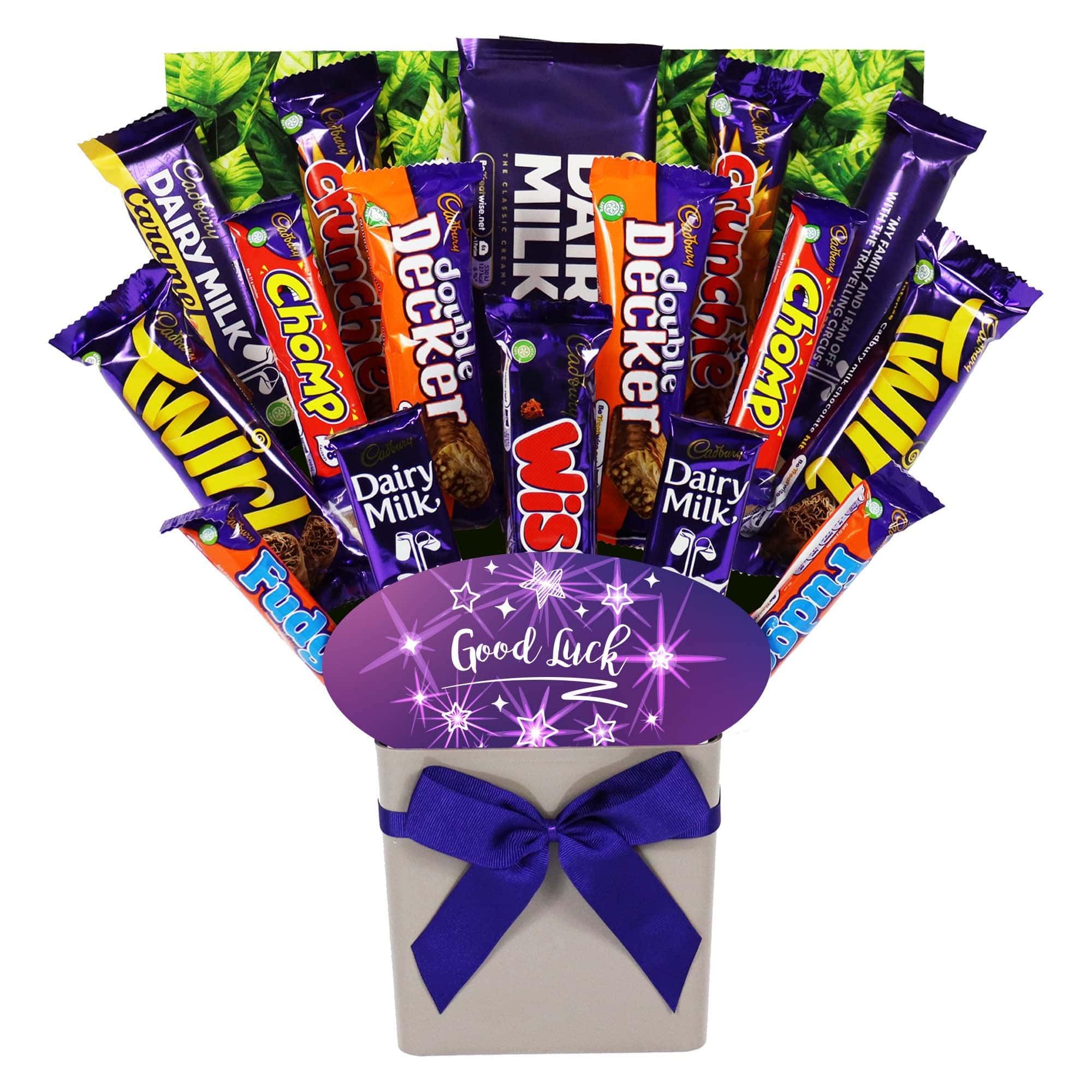 The Good Luck Cadbury Chocolate Bouquet