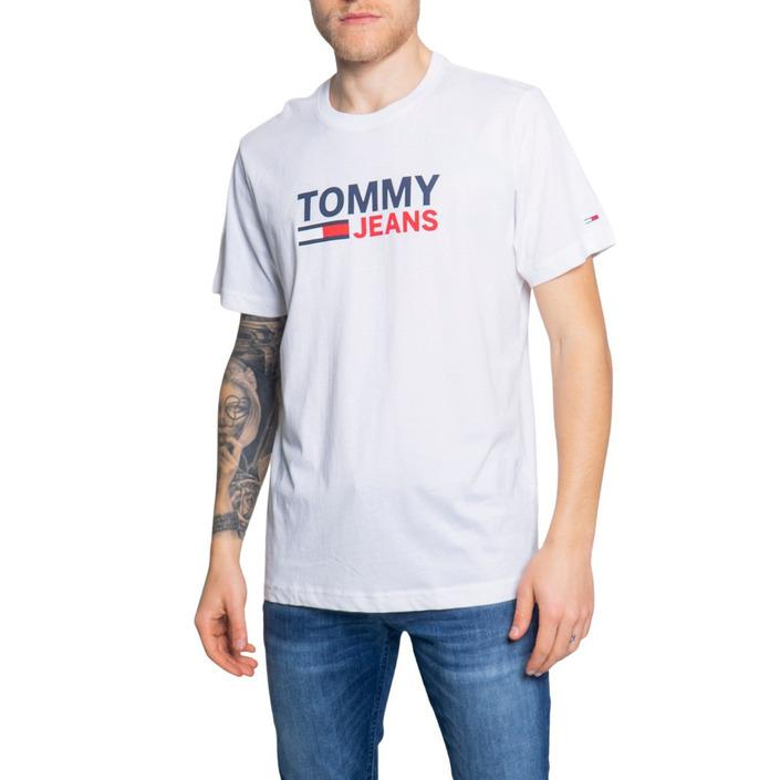 Tommy Hilfiger Jeans Men's T-Shirt White 189632 - white XXL