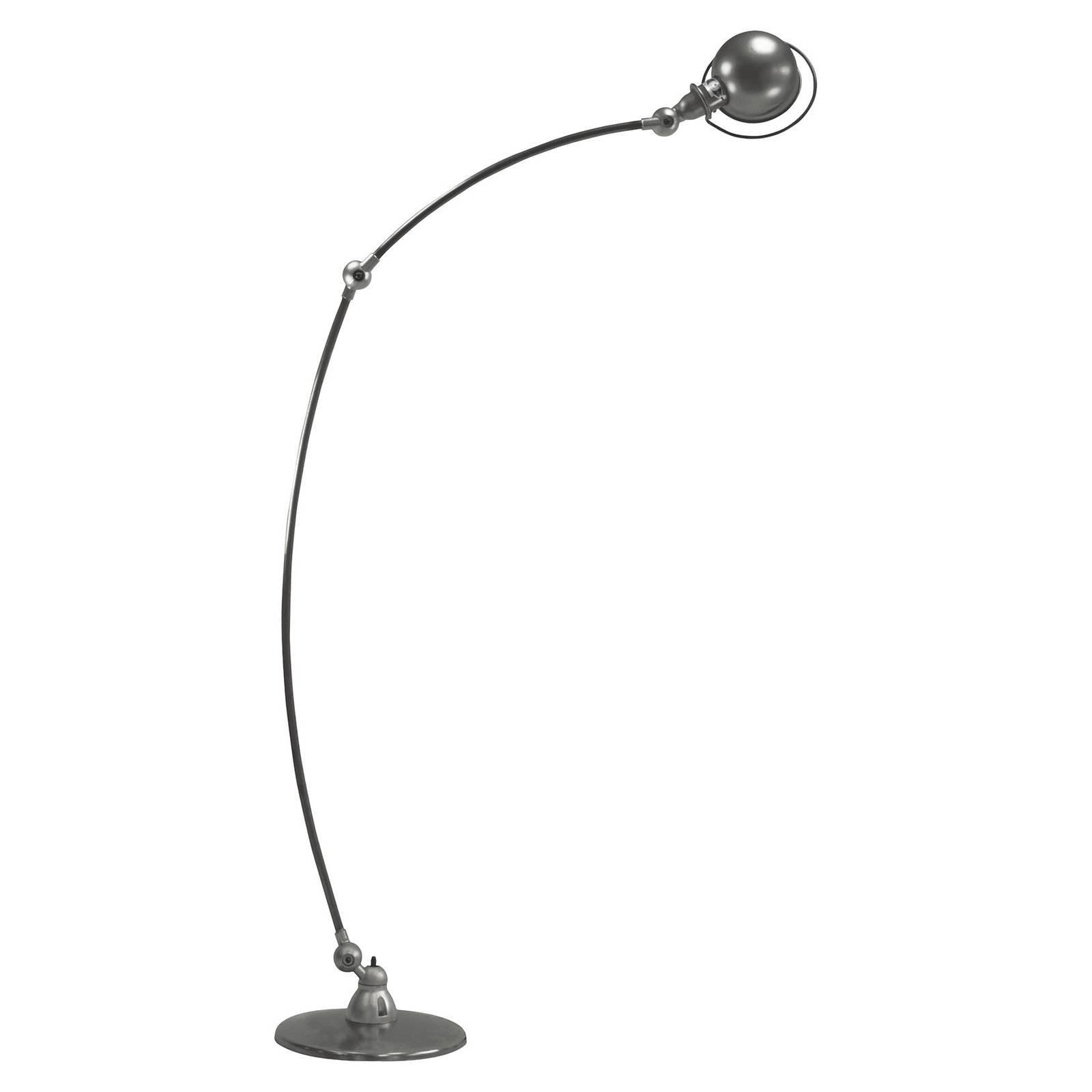Jieldé Loft C1260 buegulvlampe, grå