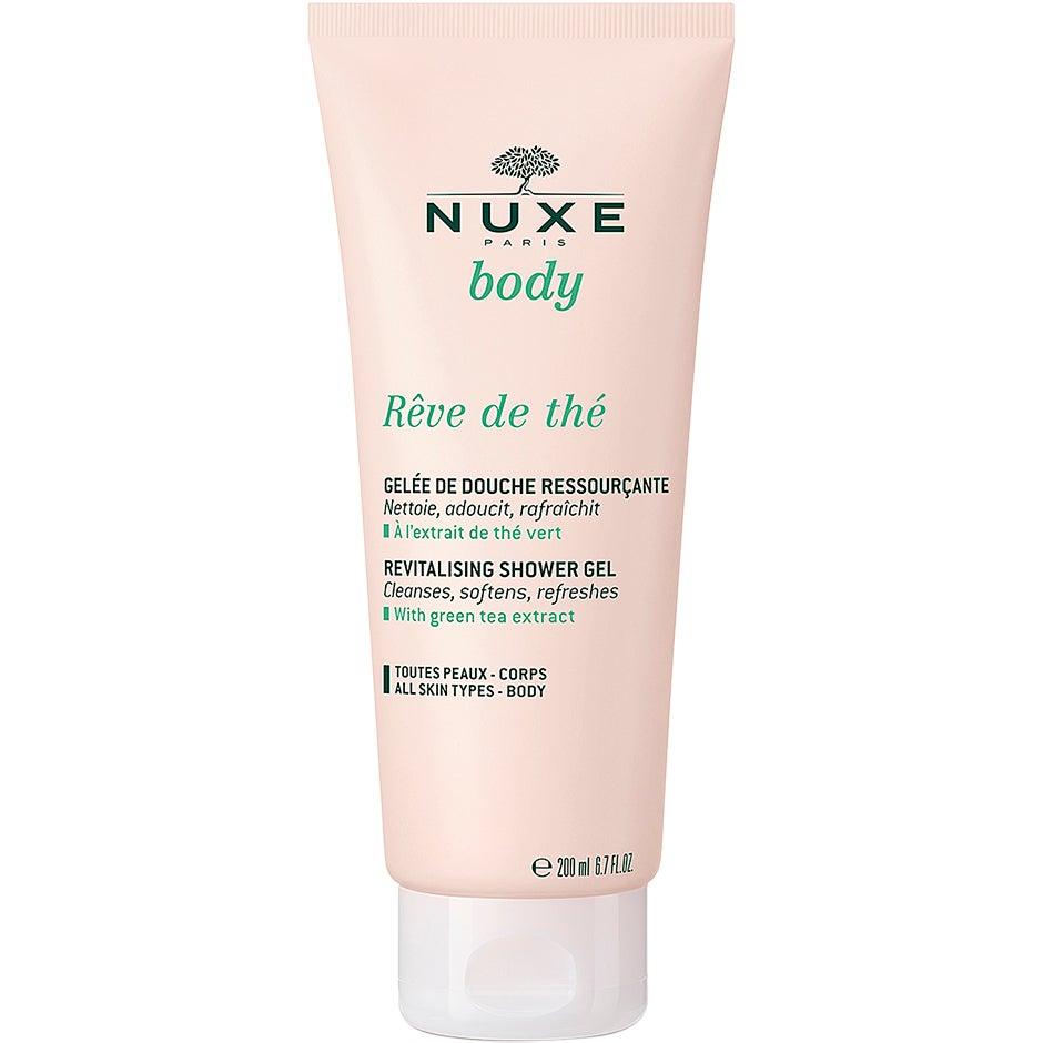 Body Reve De Thè Shower Jelly, 200 ml Nuxe Suihku- ja kylpytuotteet