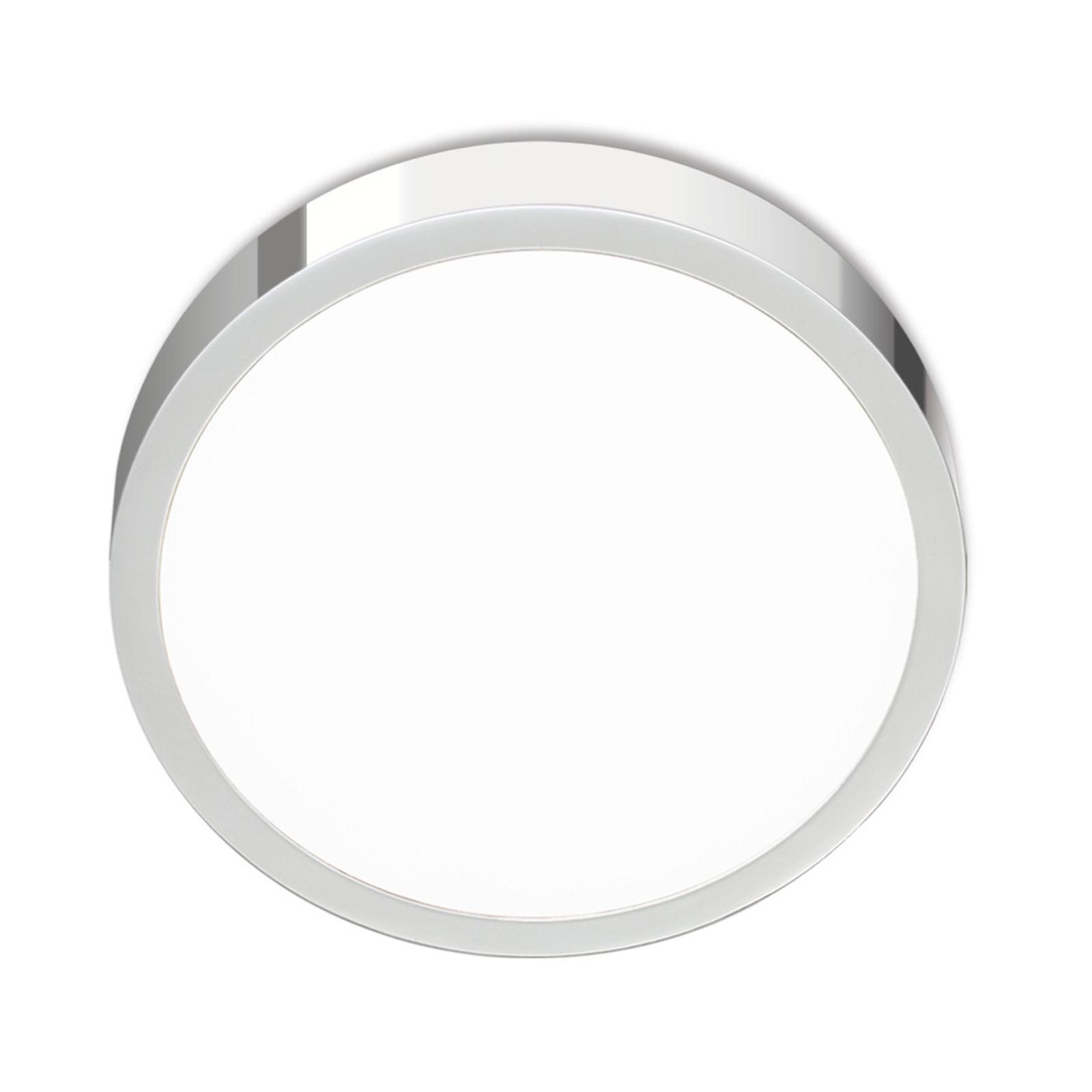LED-kattovalaisin Bully, kromia, 14 cm
