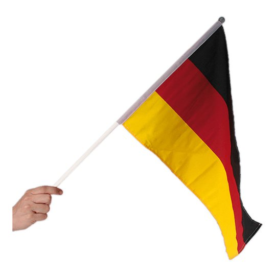 Handflagga Tyskland