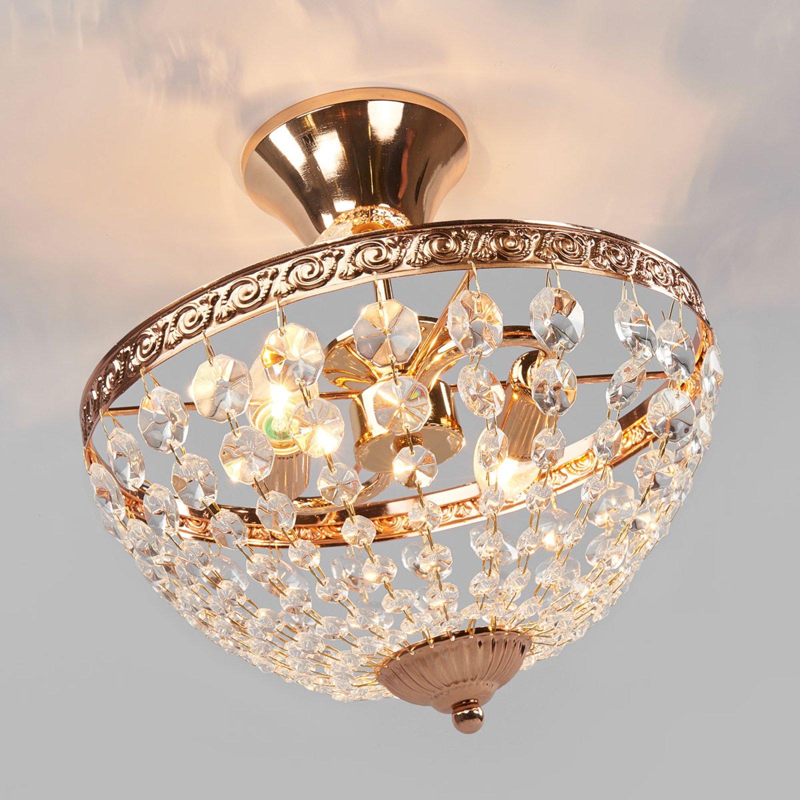 Dekorativt utformet taklampe Hanaskog