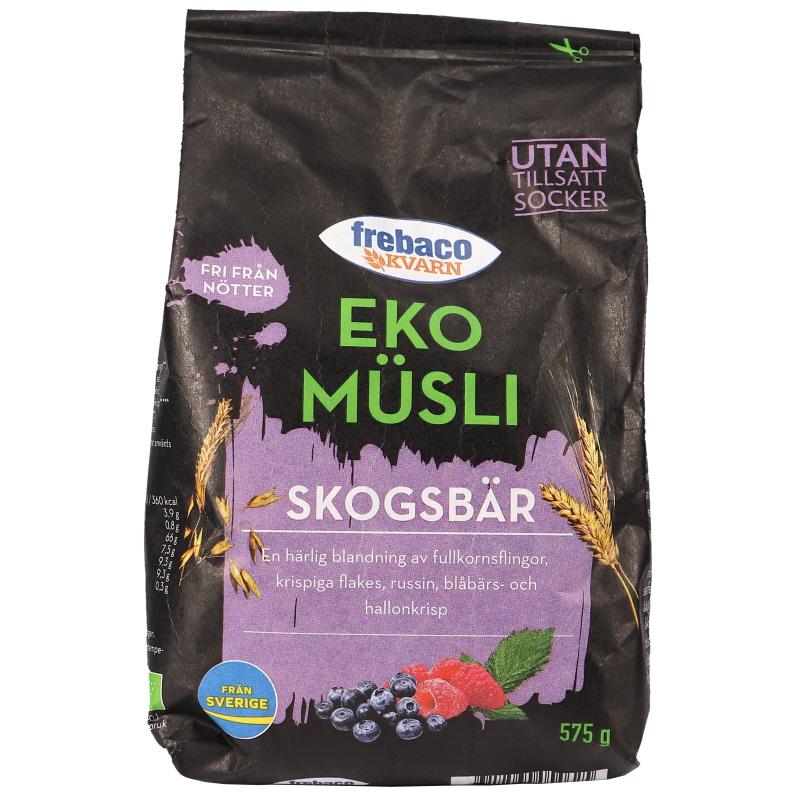 Eko Müsli Skogsbär - 24% rabatt