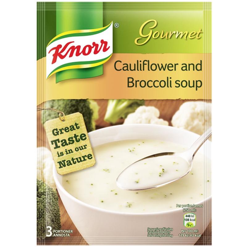 Soppa Broccoli & Blomkål - 16% rabatt